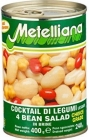 Metelliana A mixture of 4 varieties of beans in brine