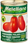 Metelliana pelati tomatoes without peel