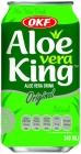 OKF Aloe Vera King Drink mit Aloe-Partikeln