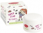 Topfer Kidscare Бальзам для губ для девочек с маслом ши и сладким миндальным маслом