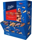 Wedel. Mix of Wedel sweets in dessert chocolate