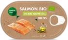 Salmon salmon fillet in olive oil BIO
