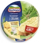 Hochland melted cheese, 8 triangular portions with herbs