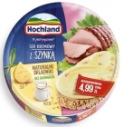 Hochland melted cheese, 8 triangular portions with ham