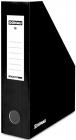 Donau Container für Dokumente, Karton, A4 / 80mm, bemalt, schwarz