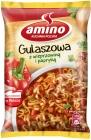 Sopa gulash Amino instantánea con carne de cerdo y pimentón