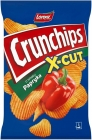 Crunchips X-Cut Potato chips with pepper flavor