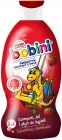 Bobini. Shampoo, shower gel and 3in1 bath liquid. Mysterious strawberry