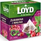 Loyd травяно-фруктовый чай с ароматом клюквы и малины