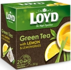 Loyd Aromatised green tea with lemon and lemon grass