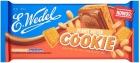 E. Wedel Cookie Молочный шоколад с начинкой из арахисового масла и печеньем
