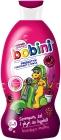 Bobini. Shampoo, shower gel and bubble bath. 3in1. Sparkling raspberry