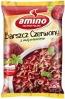 Sopa de remolacha amino instantánea con mejorana