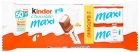Kinder Chocolate Maxi Una barra de chocolate con leche