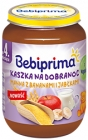 Bebiprima. Goodnight porridge Manna with bananas and apples