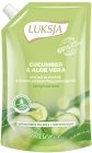 Luksja Essence Liquid soap in stock Cucumber & Aloe Vera