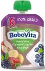 Бобовита Фруктовые муссовые фрукты с бананом и натуральным йогуртом
