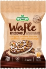 Kupiec Rice Wafers con chocolate y naranja.