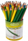 Cricco Triangular jumbo pencil with an elastic band My first ABC