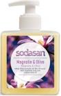 Sodasan Растительное жидкое мыло магнолия и бергамот