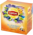 Lipton Black tea flavored with berry flavor Muffinki