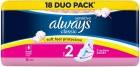 Always Classic Sensitive Long Sanitary pads with wings