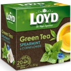 Loyd Green tea with mint and cornflower
