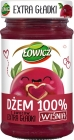 Łowicz Jam 100% fruit extra smooth cherry
