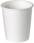 Disposable white paper cup 200 ml