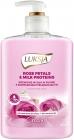 Luksja Essence Жидкое мыло Лепестки роз и молочные белки