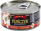 MK. Single tuna in vegetable oil