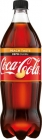 Coca-Cola Carbonated drink Zero Peach flavored with cola and peach