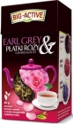 Big-Active Black Earl Gray tea with rose petals