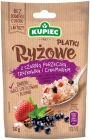 Merchant. Rice flakes with blackcurrant, strawberry and cinnamon