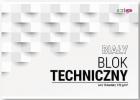 Strigo Blok techniczny A4 biały