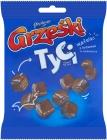 Grześki Tyci Mini wafers with cocoa flavored cream in chocolate