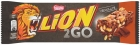 Lion 2Go Chocolate Baton with peanuts, raisins, pieces of chocolate, rice crisps