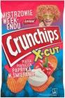 Crunchips X-Cut Картофельные чипсы нарезать густым ароматным перцем в сметане