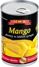 MK Mango slices in light syrup