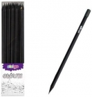 Strigo Ołówek HB z czarnego drewna