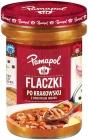 Pamapol Flaczki en Cracovia con la adición de jengibre