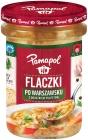 Pamapol Flaczki en Varsovia con la adición de albóndigas