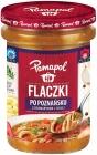 Pamapol Flaczki en Poznań con romero y chile