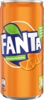 Fanta orange drink effervescent can