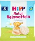 HiPP Natural rice wafers BIO