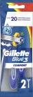 Gillette Blue 3 Comfort Disposable razors