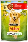 Friskies Vitafit Adult Dog food with beef and carrot jelly