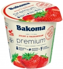 Bakoma Premium Yogurt with strawberries