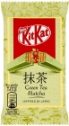 KitKat Green Tea Matcha Wafle wafle en chocolate blanco