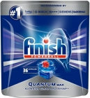Finish Quantum Max Regular Capsules for washing dishes in a dishwasher